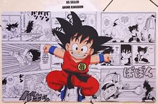 Custom Yugioh Playmat Play Mat Large Mouse Pad Dragon Ball Z Goku & Manga  #633
