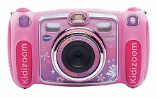 Vtech Kidizoom Duo Camera Pink Girls Gift Sport Toy Photos Selfies Effects New