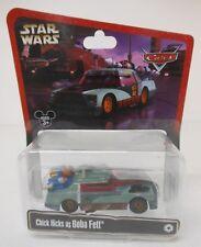 Disney Pixar Star Wars Cars Diecast CHICK HICKS AS BOBA FETT Bounty Hunter Car
