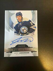 2015-16 Upper Deck Premier Josh Anderson Rookie Auto /399