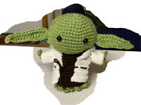 Baby Yoda Star Wars The Mandalorian Crochet Doll Amigurumi handmade NEW