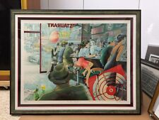 """Daniel Authouart """"Private Investigation""""  Hand Signed Numbered Lithograph"""