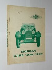 Brooklands Books Morgan Cars 1936-1960. R.M. Clarke Softback Book.