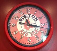 Vintage MLB Boston Red Sox Baseball Timeworks Collector's Wall Clock