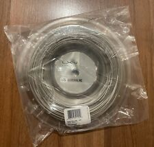 Luxilon Adrenaline 125 Reel 16L (1.25mm Tennis String) 200m/660ft. Silver. New