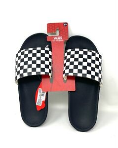VANS Slide-On Checkerboard Black Men's Sandals VN0004KIIP9