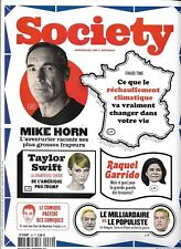 SOCIETY N°69 novembre 2017  Mike Horn/ T.Swift/ Réchauffement climatique/ Soros