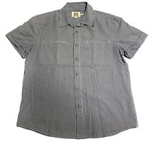 """Men's L Slim Juicy Couture Short Sleeve Snap Button Up Shirt for """"Slim"""" guys"""