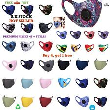 Adult face mask, mens ladies mouth protection cover, washable reusable prime