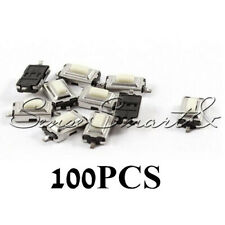 100Pcs SMD Tactile PushButton Key Switch Momentary Tact 2 Pins 3x6x2.5mm