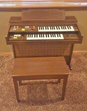 Vintage Yamaha Electone Model 115 Organ & bench ser. #3140 Local Pick Up