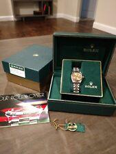 Rolex Ladies 6917 Datejust Two Tone 18k With Original Box 100% authentic