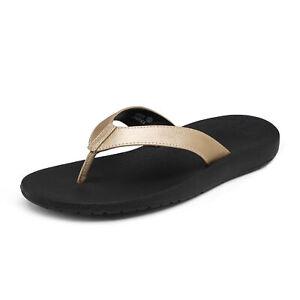 Women Arch Support Flip Flops Comfortable Summer Beach Thong Sandals Shoes 6-11