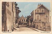 CPA 77 LUZANCY LA RUE DE LA MAIRIE