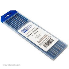 "TIG Welding Tungsten Rod Electrodes 2% Ceriated 1/16"" x 7"" (Grey, WC20) 10PK"