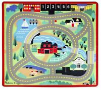 Melissa & Doug AROUND THE TOWN ROAD RUG Pre-School Children Toys Games BN