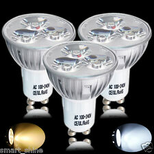 20X GU10 4W LED Bulbs Spotlight High Power Day Warm White Light Spot Bulb Lamp