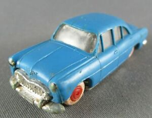 Norev Micro Miniature N°1 Ho 1/86 Simca Ariane Bleu Roues Rouge Lestée