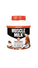 Muscle Milk Genuine Protein Powder, Chocolate, 32g Protein, 1.9 Lb Exp 12/20