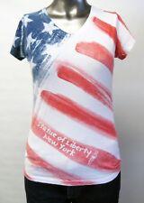 Next Level,Neuwertig,Damen,Shirt,Amerikanisches Flaggen Motive,L(USA),Gr.42
