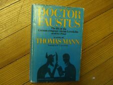 DOCTOR FAUSTUS:  The Life of the German Composer Adrian Leverkuhn, T. Mann-1966