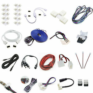 2/3/4/6pin RGB RGBW Strip Eckverbinder Schnellverbinder Steckverbinder Verbinder