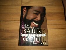 Barry White Love Unlimited Autobiography Marvin Gaye Michael Jackson Ali