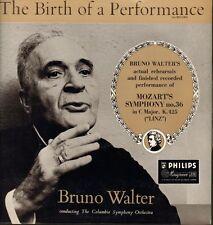 Mozart(Vinyl LP)Symphony No. 36 Linz/ Bruno Walter-Philips-ABL 3162-UK-Ex-/Ex