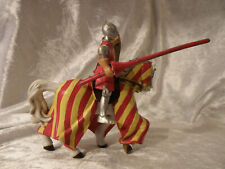 PAPO MEDIEVAL SERIES TOURNAMENT JOUSTING KNIGHT COMPLETE 2000 NICE RARE SEE PICS