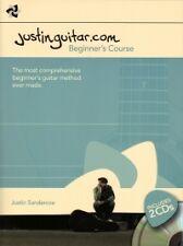 JUSTINGUITAR.COM BEGINNER'S COURSE + CDs SPIRAL*