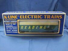 K-Line O Scale Reading Gondola #K-6515 Nice in Box