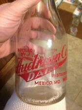 AUDRAIN CO MEXICO MISSOURI TRPQ MILK BOTTLE MO RARE
