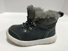 UGG Obie Waterproof Winter Boots Toddler/Baby Boy's Size 8M 1018455