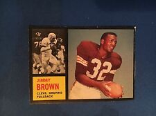 1962 TOPPS JIM BROWN #28 CLEVELAND BROWNS