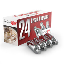 More details for cream chargers 8g nitrous oxide canisters whipped cream n2o nos - quick whip