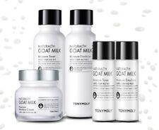 Tony Moly Naturalth Goat Milk Premium Skincare Set Emulsion, Toner, Cream