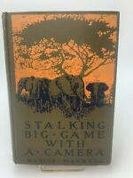 1ST Stalking Big Game With A Camera Marius Maxwell 1924 HUNTING AFRICA ELEPHANT