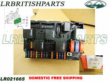 s l225 land rover fuse relay box in interior ebay Land Rover Discovery AC Drain at webbmarketing.co