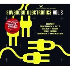 ADVANCE ELECTRONICS 8 2 CD+DVD MIT LACRIMOSA UVM. NEW+