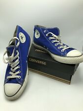 Converse Chuck Taylor All Star Mid Top Tennis Shoes Royal Blue Mens 11 124102F