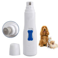 Pet Nail Claw Grooming Grinder Trimmer Clipper animal Dog Cat Electric Nail File