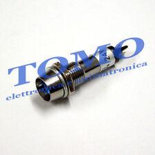 Spia LED 24VDC da pannello concava colore Blu code OA015