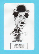Charlie Chaplin  Movie Film Star Spanish Caricature Card