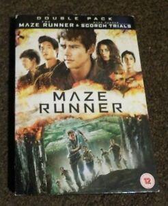 MAZE RUNNER & MAZE RUNNER SCORCH TRIALS DOUBLE PACK DVD