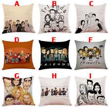 TV Series FRIENDS Cartoon Throw Pillows Cover Pillowcase Sofa Cushion Gift 45cm