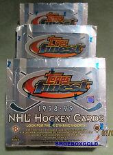 1998-99 TOPPS Finest NHL Hockey Factory-Sealed Hockey PACK - Great Value!!