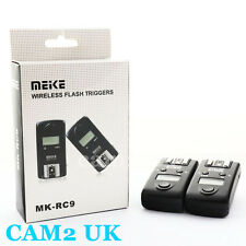 Meike MK-RC9 2.4GHz Wireless Flash Trigger for Canon EOS 5D III 6D 50D RS-80N3