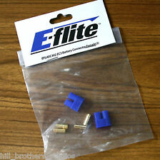 (2) EFLITE EC3 FEMALE RC BATTERY CONNECTOR  - EFLAEC302