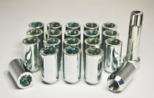20 x M12 x 1.25, Tuner Wheel Nuts (Zinc)