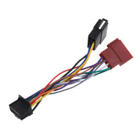 For Pioneer 2015 16Pin Car ISO Lead Wiring Loom Harness Cable Radio Wire